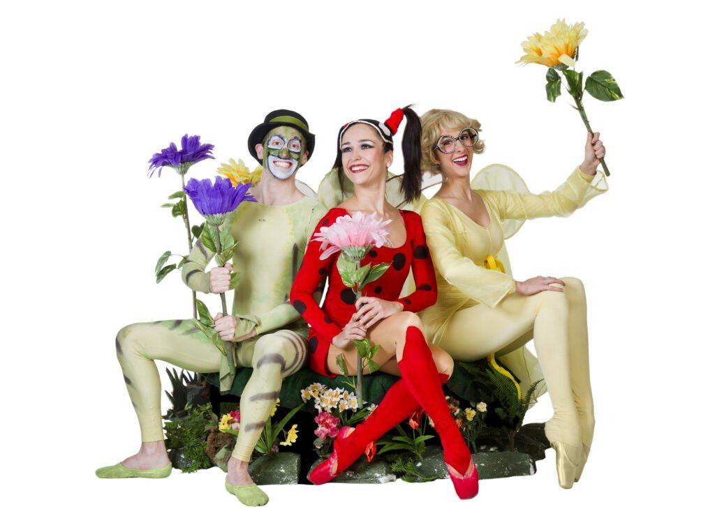 Ladybug dancers in costume